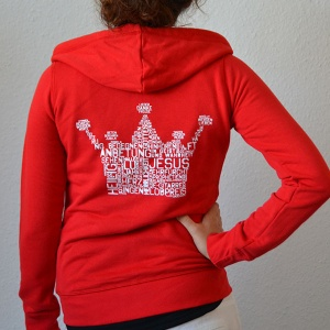 kronejacke_lady_red_back