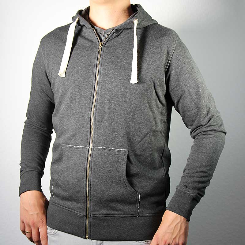 Men Kapuzenjacke grey